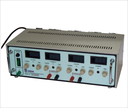 Continuously Variable (CV - CL) Dual Output Power Supply - SVL - D